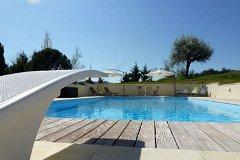 Pool & diving board