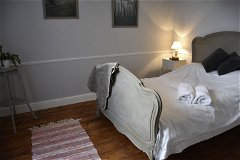 Bedroom with adjoining sitting room