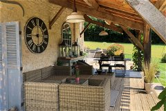 Covered terrace/abris