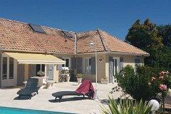 Terrace, Pool & House