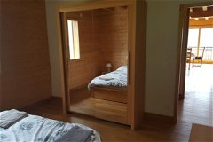 First floor bedrooms to open plan, extensive storage plus chest of drawers, electric blinds