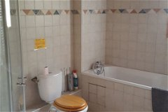 All bathrooms fully tiled with bath and separate shower, dual fuel towel rail