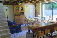 La Croze  large dining kitchen
