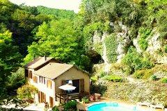 La Croze farmhouse, peace with La Roque Gageac 10 mins walk