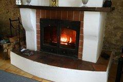 Farmhouse Godin Log Burner