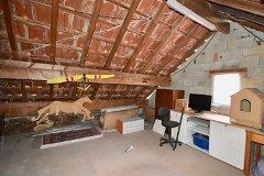 Cottage attic
