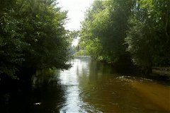 River from mill