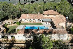 Magnificent stone bastide for sale in Correns